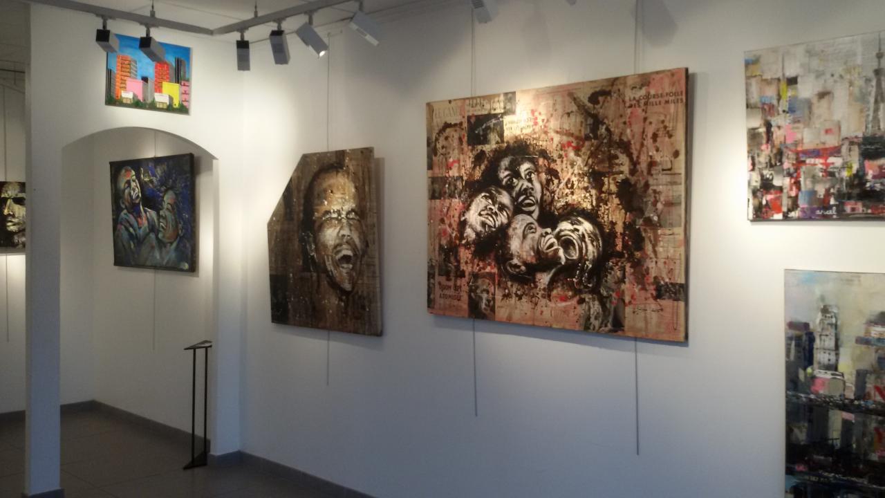exposition à la galerie horace vernet du 9 au 22 novembre 2015 .