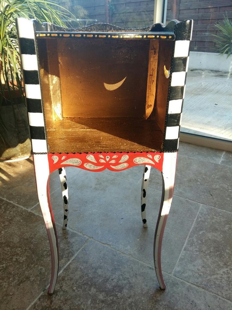 Table de nuit customisé